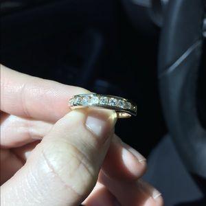 Jewelry - Diamond 1/2 Eternity Anniversary Band